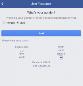 Create multiple facebook account with same mobile number - Facebook