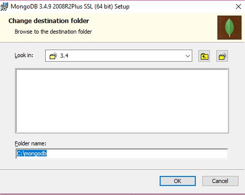 Mongo DB Installation Windows Screen Shot 5