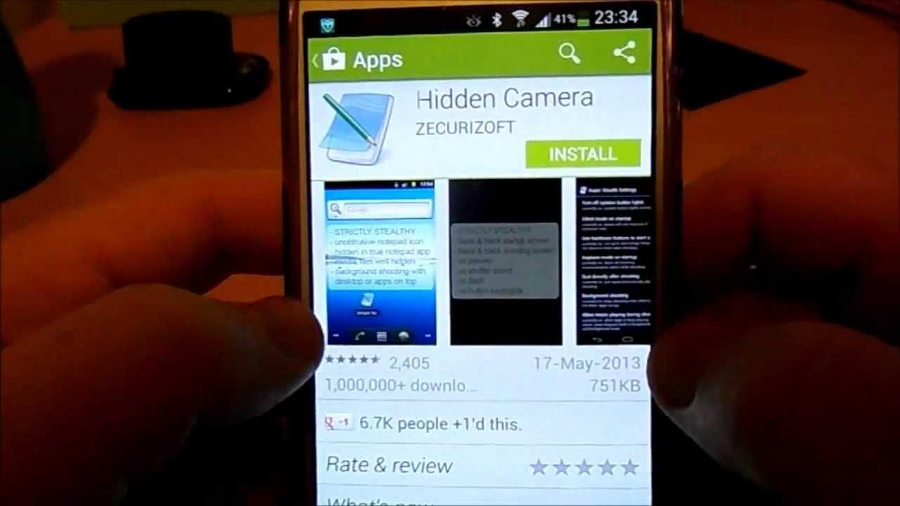 Mobile Hidden Camera