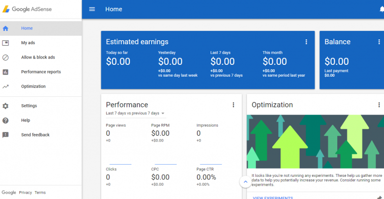 Get Adsense Account Approve