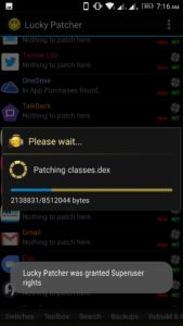 Modified Apk with Lucky Patcher