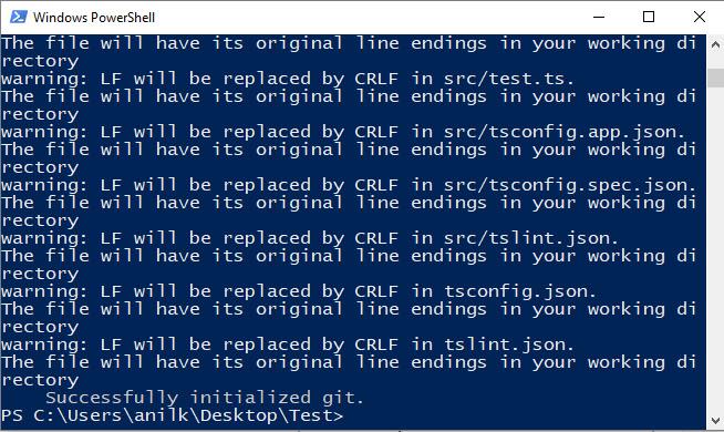 Angular Application Builded