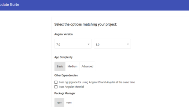 Upgrade Angular Application